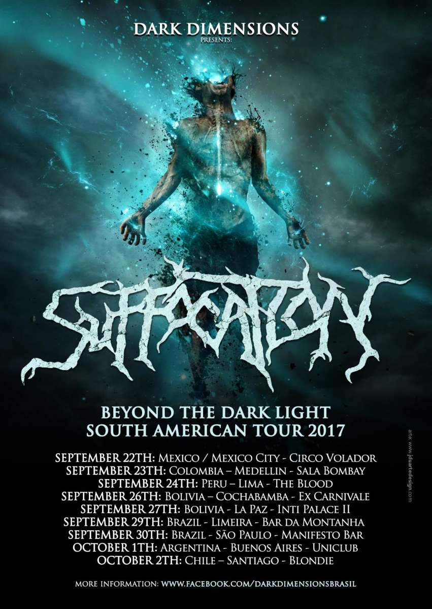 Beyond The Dark Light South American Tour 2017