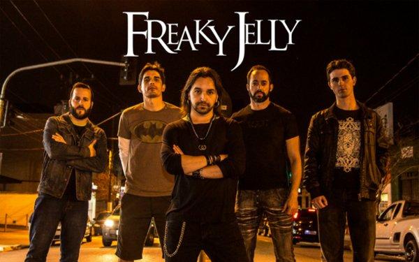 Freaky Jelly assina com a gravadora italiana Rockshots Records