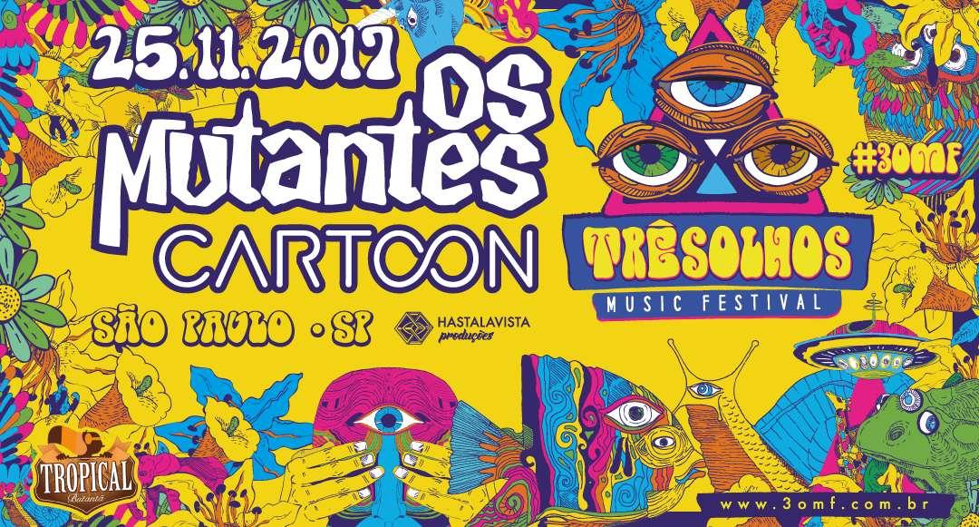 Três Olhos Music Festival traz psicodelia à cidade de São Paulo