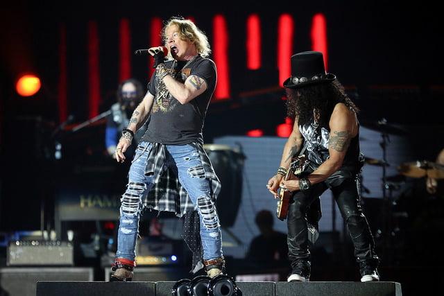 Guns n' Roses | Foto: Ricardo Matsukawa / Mercury Concerts