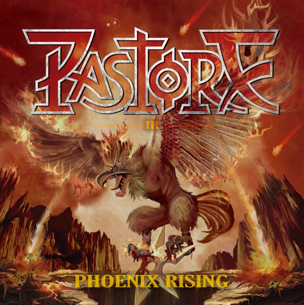 "Pastore divulga capa e tracklist de novo álbum ""Phoenix Rising"""