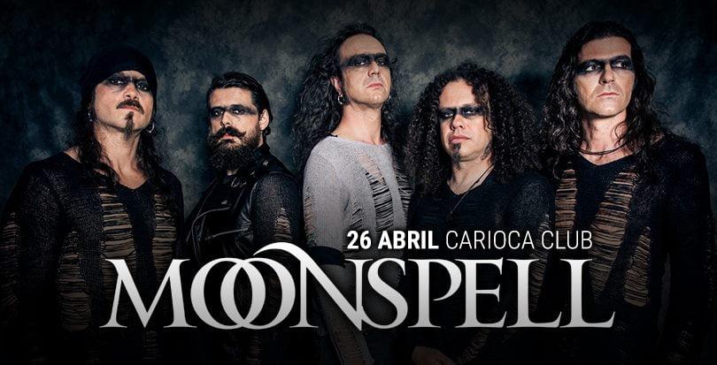 Moonspell confirma datas no Brasil em 2018