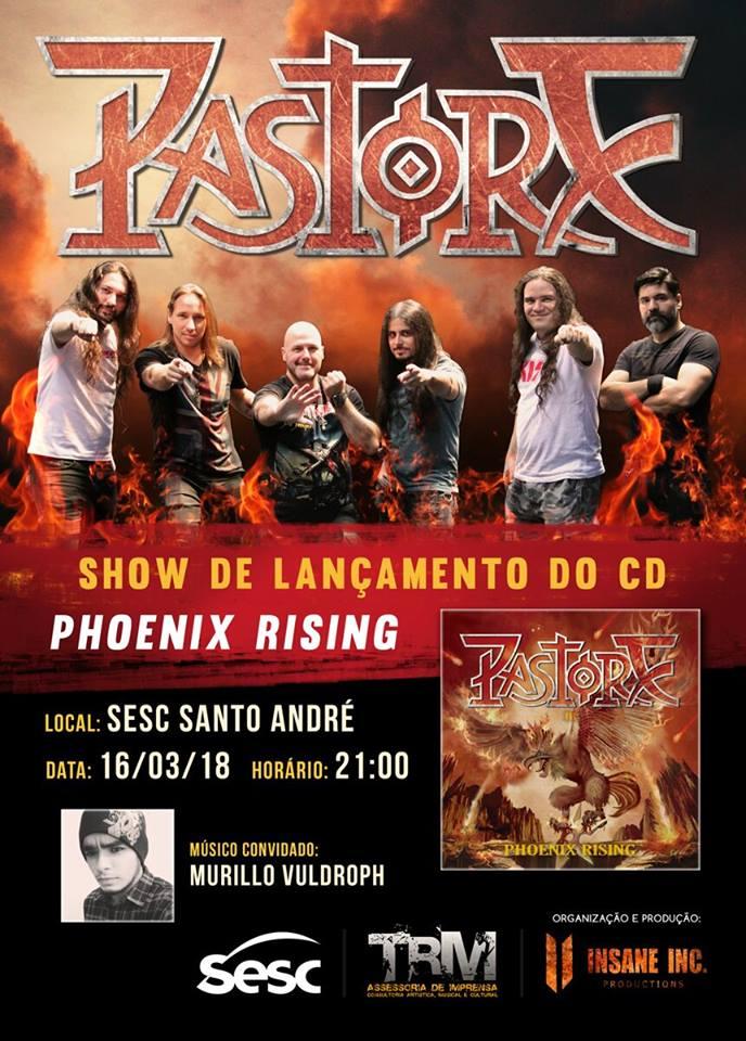 Pastore: ingressos à venda para show no Sesc Santo André