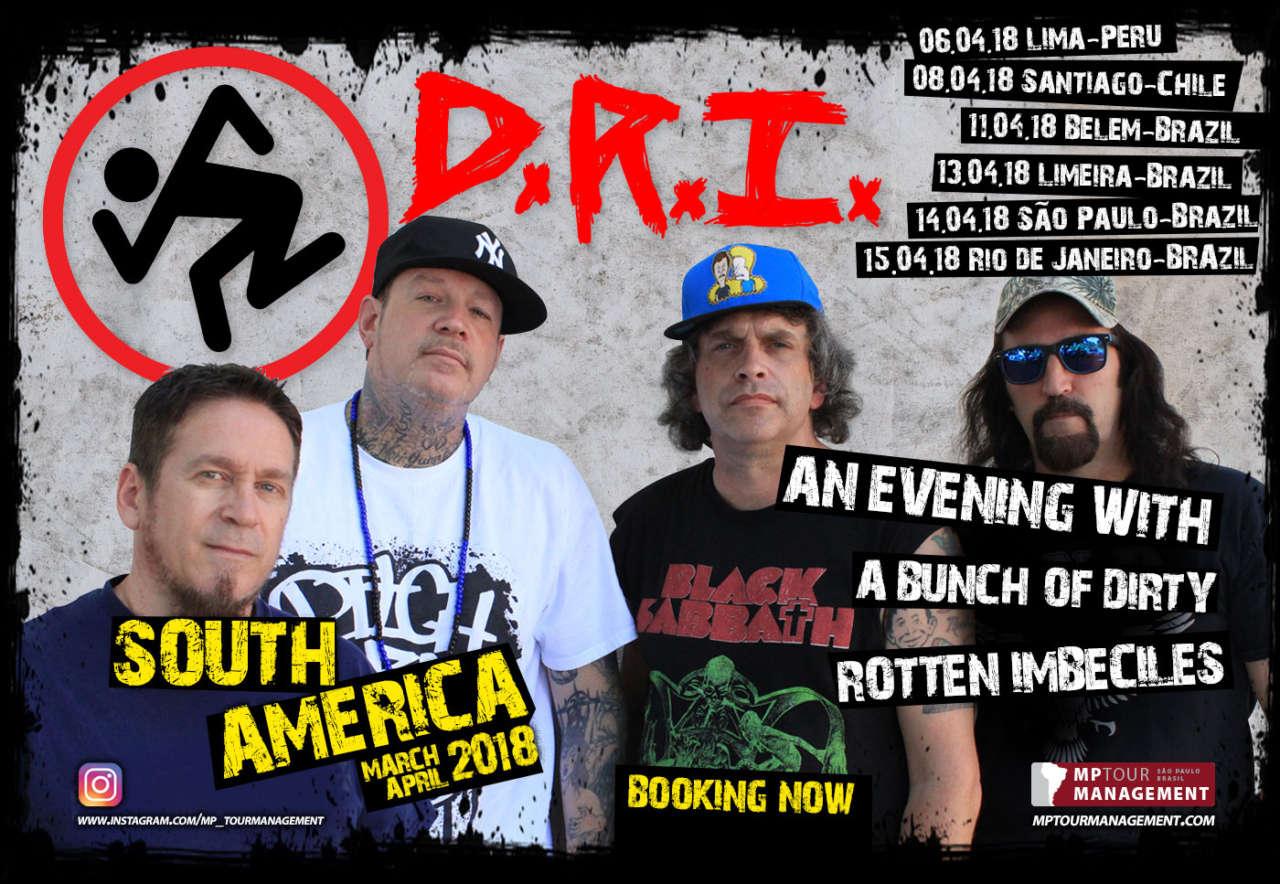 D.R.I. : Vocalista fala sobre provável jam com Danny Lilker no Brasil