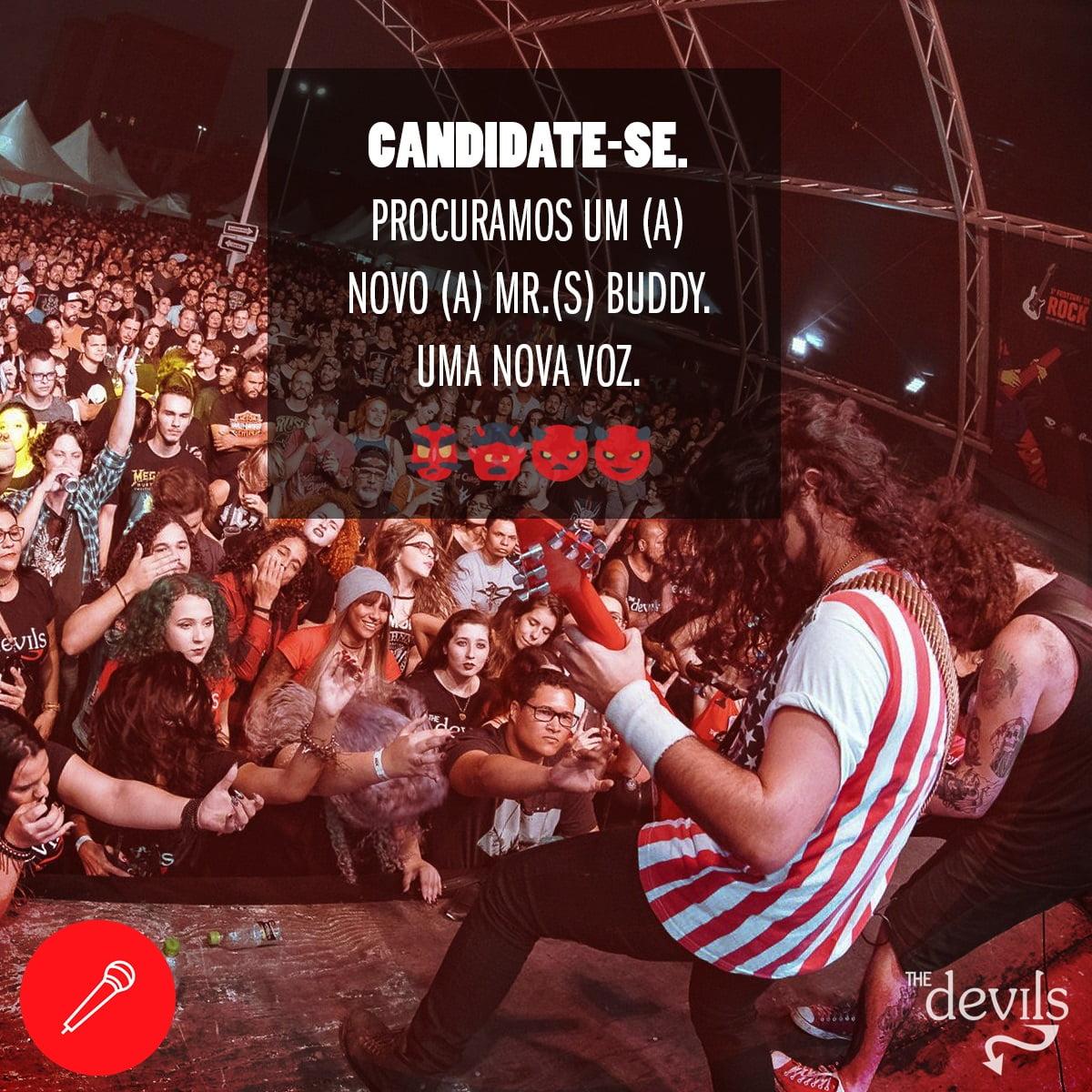 Read more about the article The Devils: Banda procura um novo vocalista