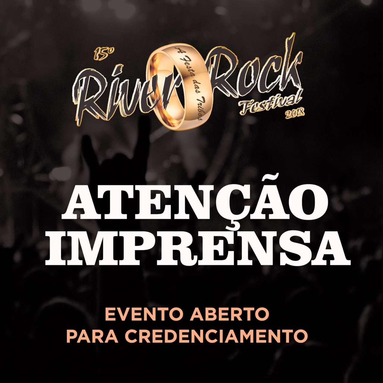 Read more about the article River Rock Festival: Evento abre credenciamento para a imprensa especializada