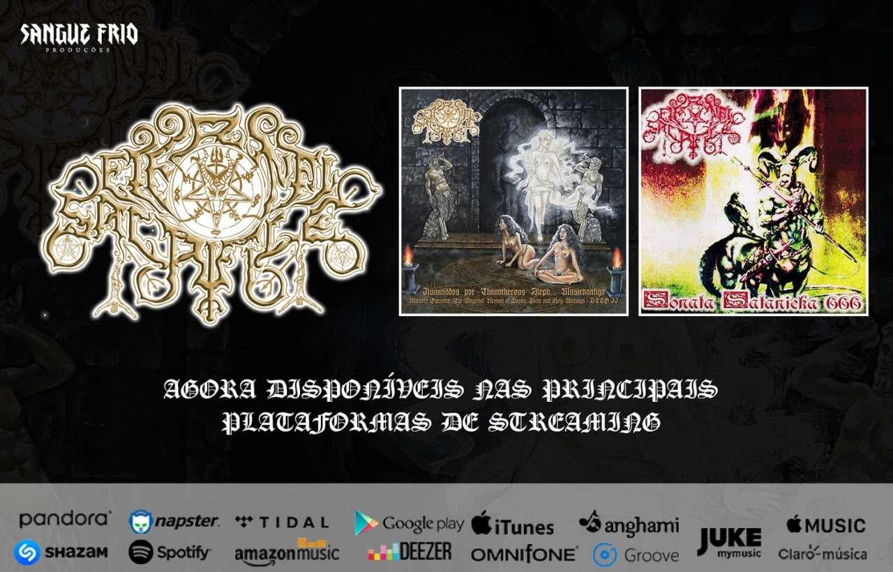 Eternal Sacrifice: Encontre agora um dos principais nomes do Pagan/Black Metal brasileiro dentre as plataformas digitais