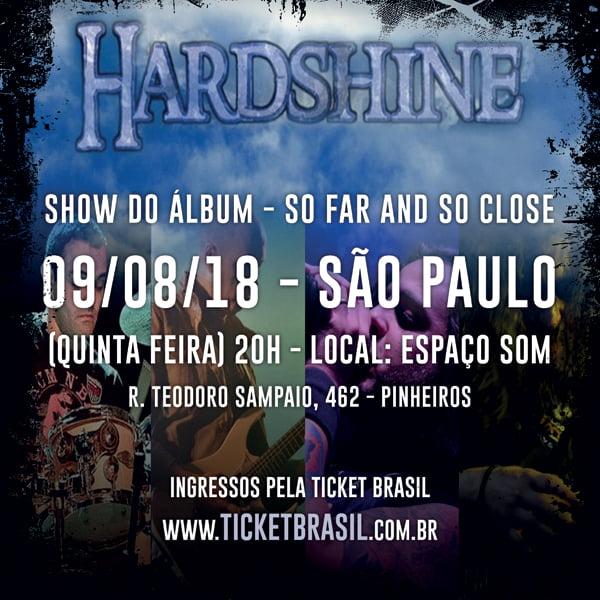 Read more about the article Hardshine estreia ao vivo com show dia 9 de Agosto no Espaço Som em SP