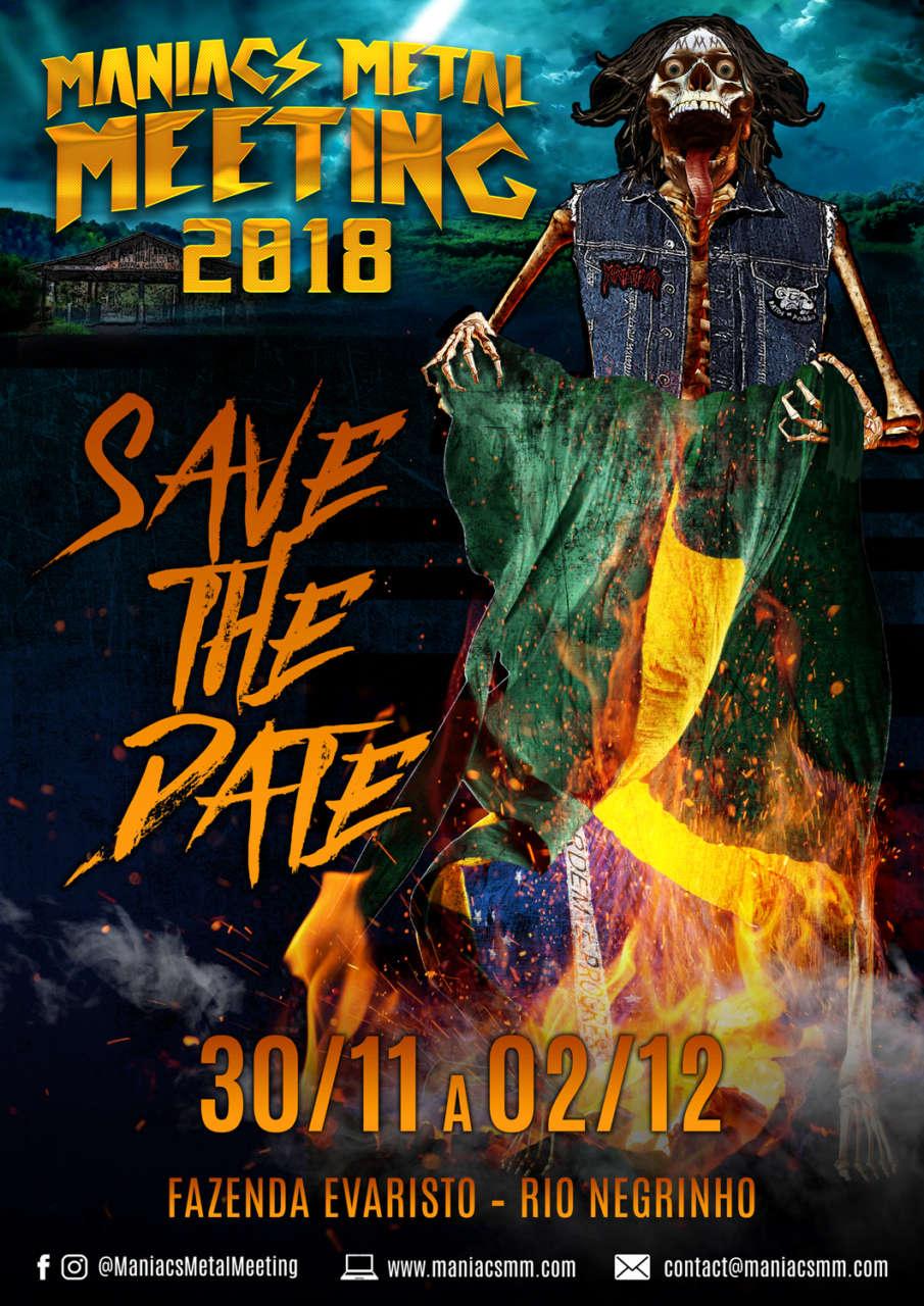 Maniacs Metal Meeting: Contagem regressiva para um dos maiores festivais do Sul do Brasil