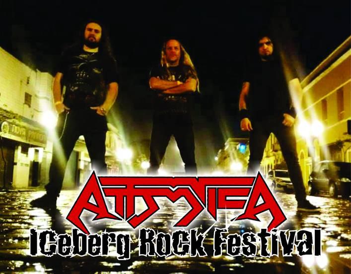 "Attomica é Headliner do ""Iceberg Rock Festival Open Air V""."