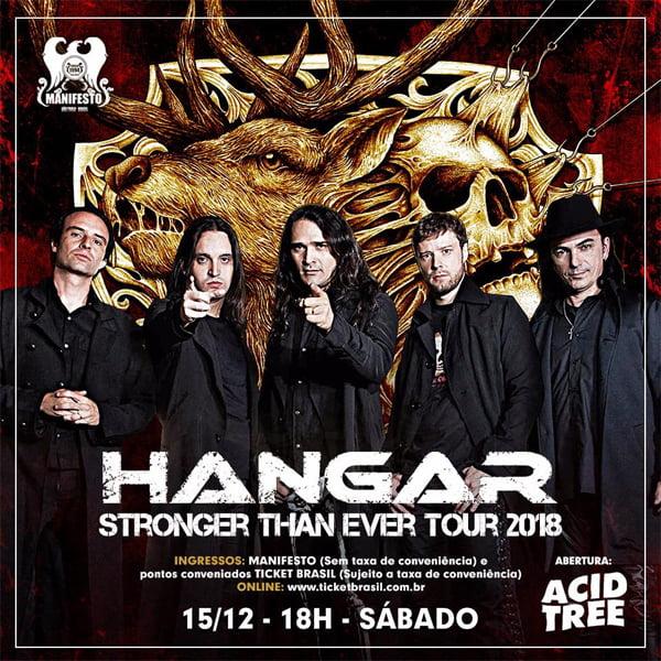 Hangar se apresenta no Manifesto Bar em SP neste sábado
