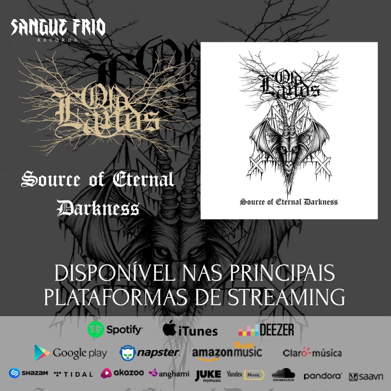 """OLDLANDS: """"Source of Eternal Darkness"""" já disponível nas principais plataformas digitais, ouça agora!"""