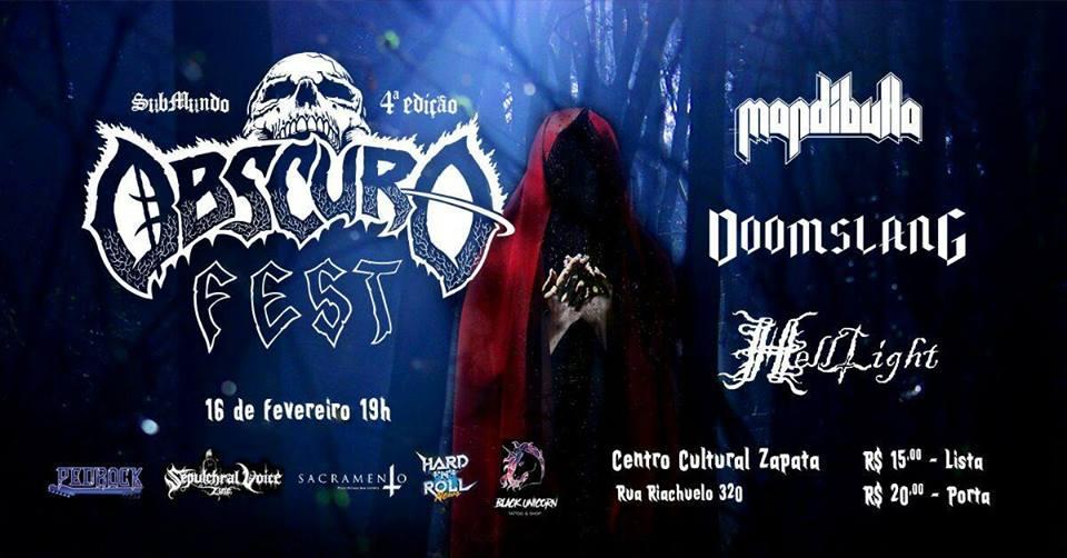 Read more about the article 4° edição do Obscuro Fest ocorre em São Paulo em Fevereiro