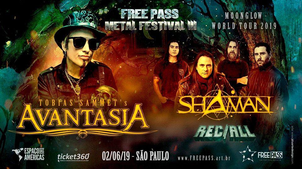 Avantasia será headliner do Free Pass Metal Festival III