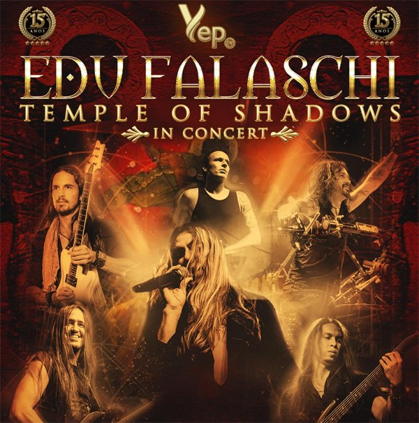 "Edu Falaschi: Vídeo ao vivo no Japão celebra início da turnê ""Temple of Shadows In Concert"""