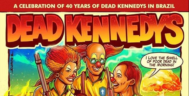 Read more about the article Dead Kennedys cancela shows no Brasil