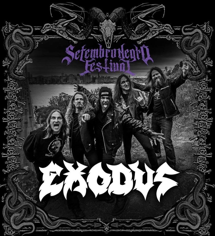 Setembro Negro 2019: Exodus é anunciado como atração especial do festival!