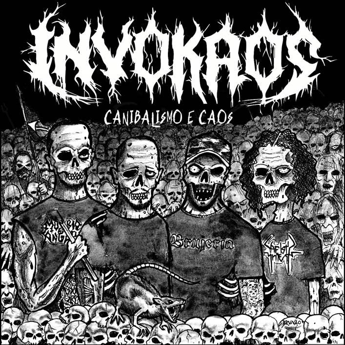 """Invokaos tem primeiro single oficialmente gravado, """"Canibalismo e Caos"""" se encontra disponível para audição em plataformas digitais"""