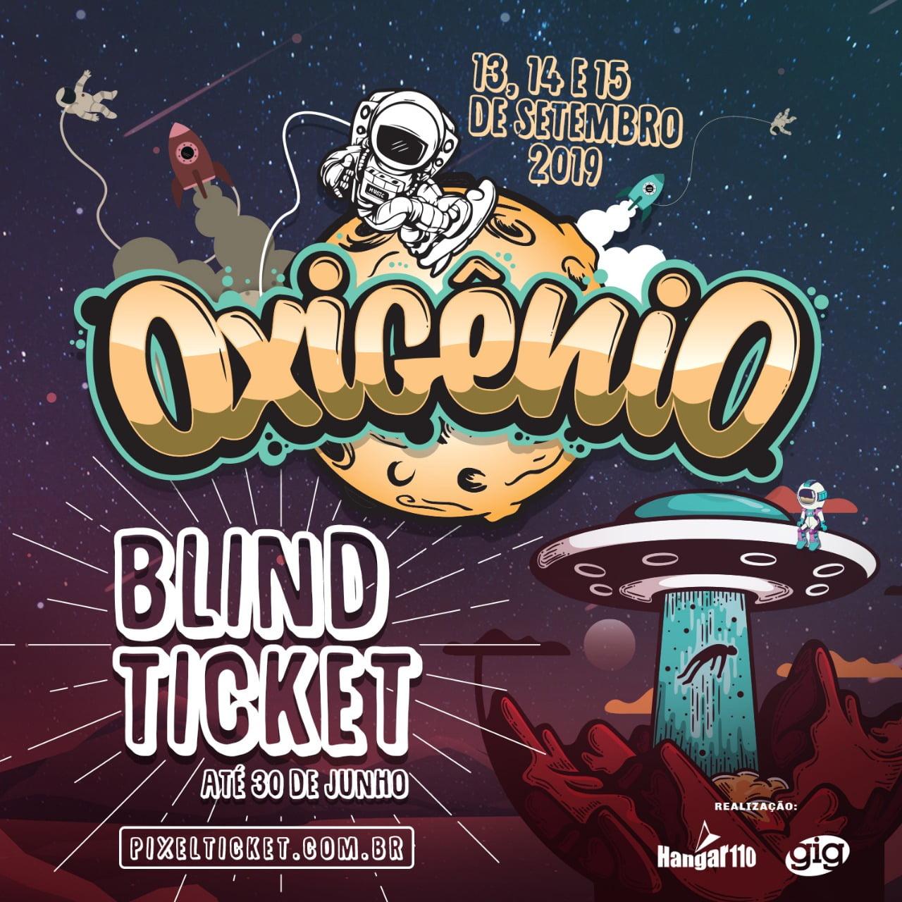 Oxigênio Festival inicia venda do blind ticket para a edição 2019