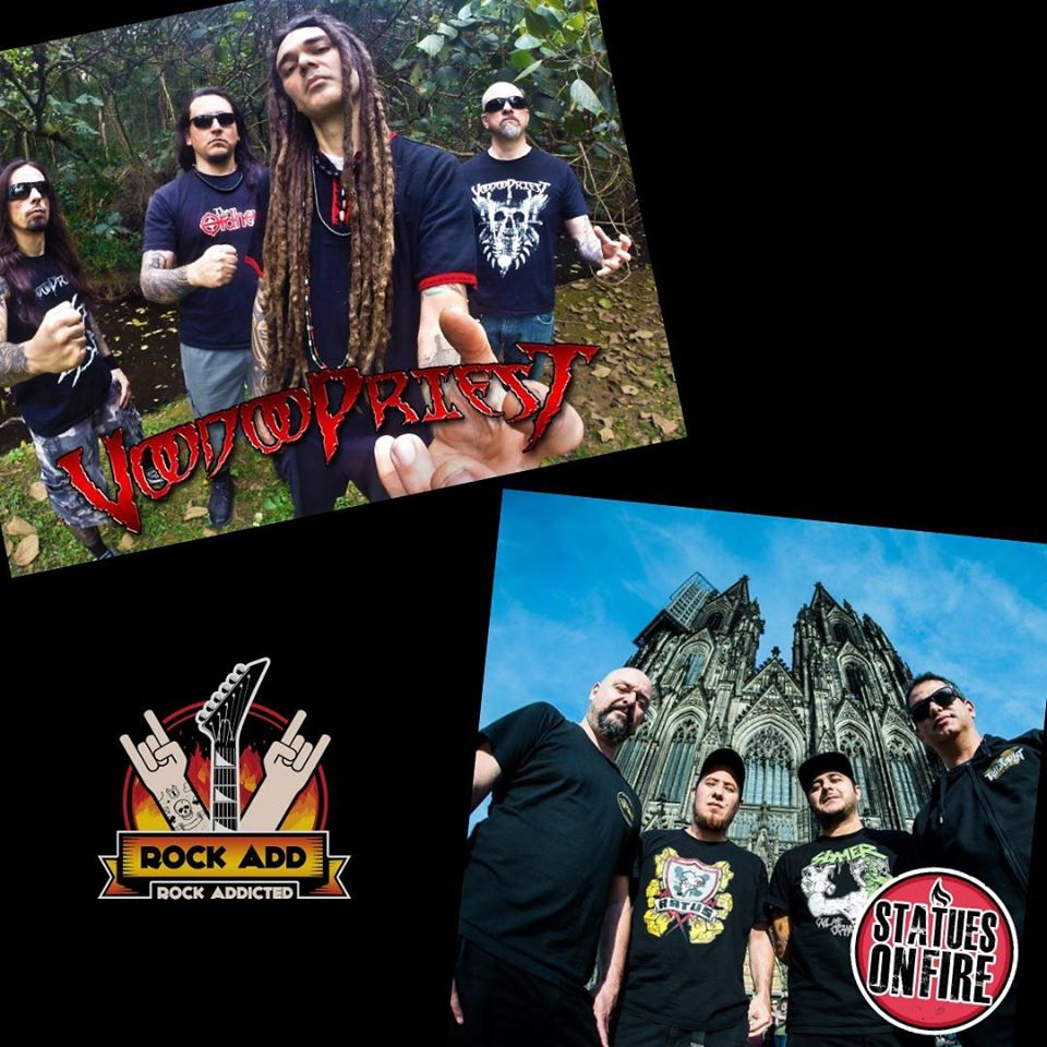 Rock Add: Episódio #11 traz entrevistas com Voodoopriest e Statues On Fire
