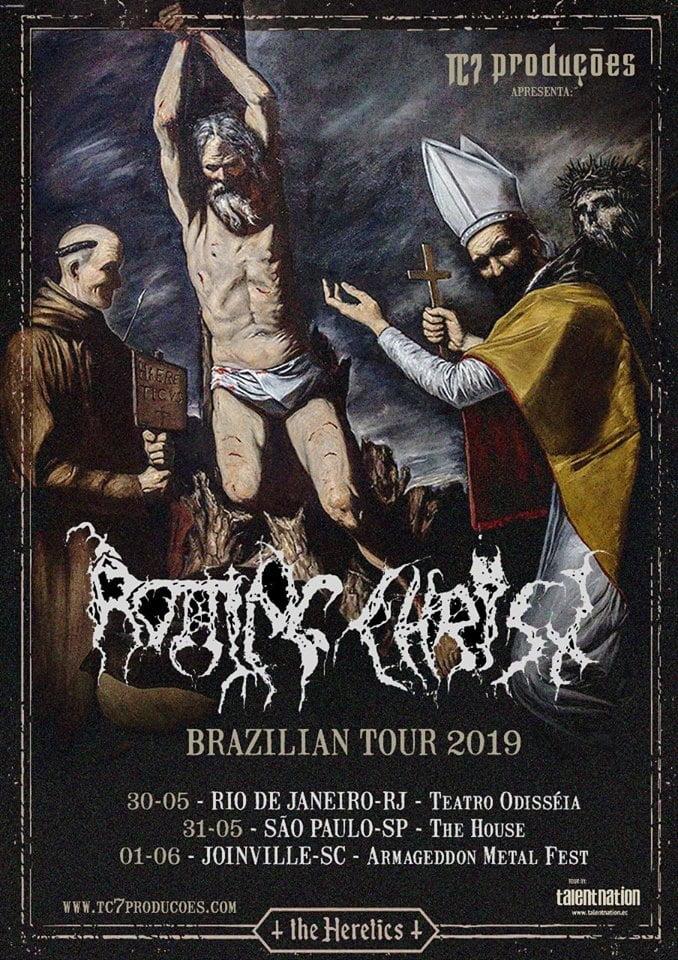 Rotting Christ: Gregos fazem shows em RJ, SP e SC nesta semana!