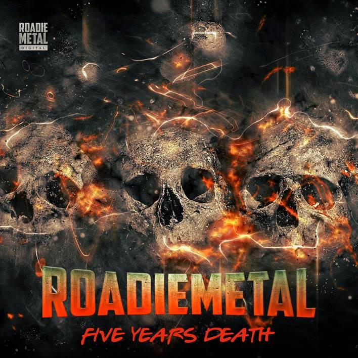 """Roadie Metal: em celebração aos 05 anos de existência, é liberada coletânea """"Five Years Death"""" com as bandas de meta extremo assessoradas pela empresa"""