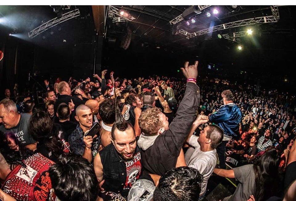 The Exploited: Depois de shows com ingressos esgotados nos EUA, banda começa tour na América do Sul neste fim de semana