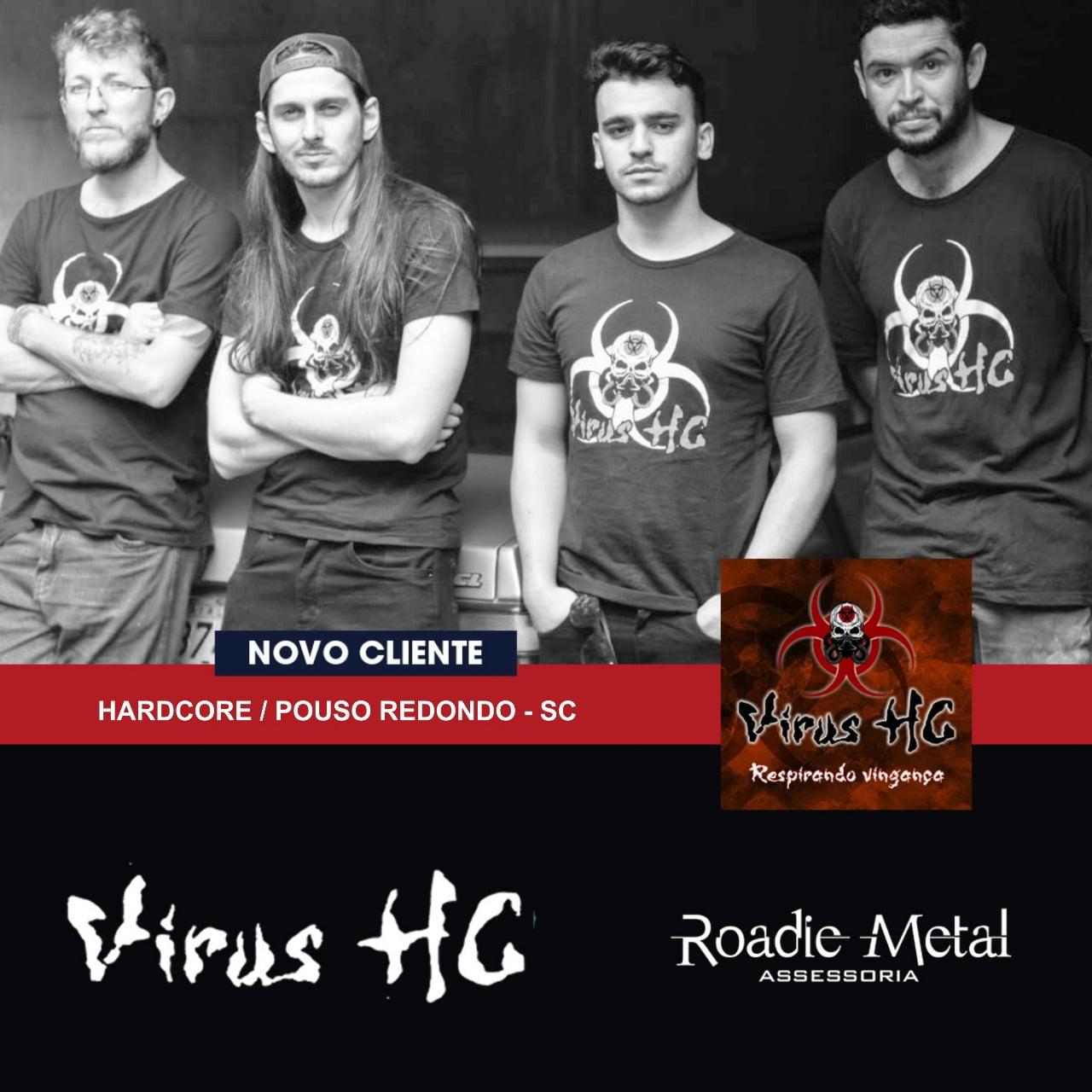 Vírus HC retoma carreira, lança EP e fecha assessoria com a Roadie Metal