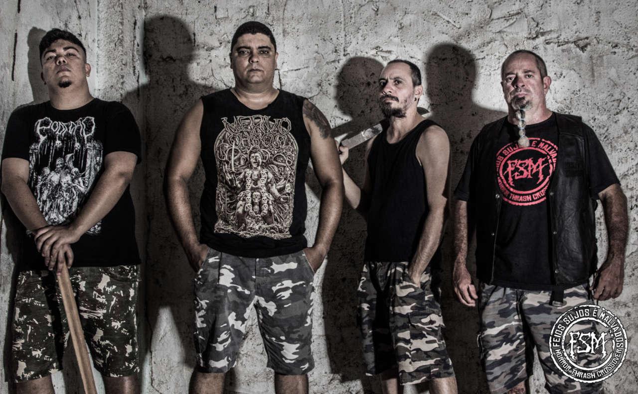 Read more about the article Feios Sujos e Malvados está gravando novo álbum e apresentando fotos da nova formação