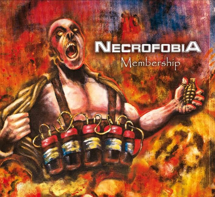 Necrofobia  tem seu novo álbum aclamado pela imprensa Nacional.