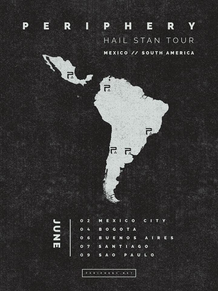 Periphery em São Paulo: contagem regressiva para show de estreia no Brasil