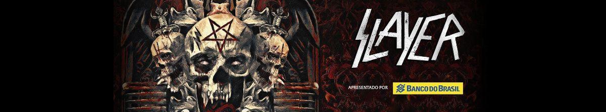 E a Final Tour do Slayer passará por São Paulo.
