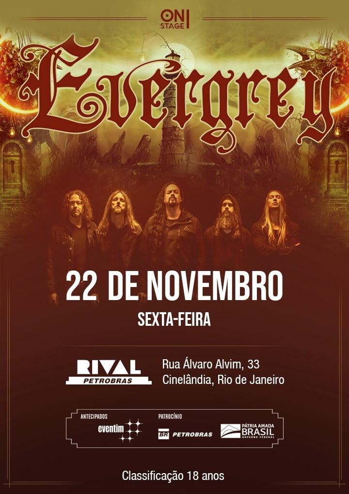 Evergrey prova ao vivo a força do Prog Metal.