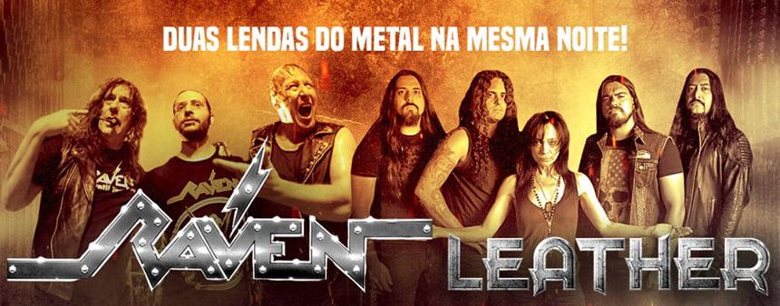 Read more about the article Raven e Leather iniciam essa semana em SP turnê sulamericana