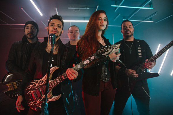 """Medjay lança videoclipe tributo para a faixa """"Violate"""" do Iced Earth com participação de May """"Undead"""" Puertas"""