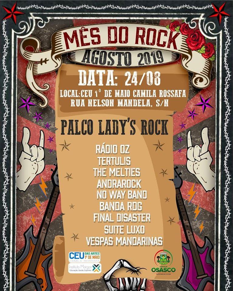 Mês do Rock em Osasco
