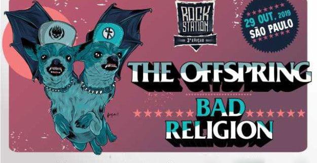Rock Station traz Offspring e Bad Religion em sua 3° edição
