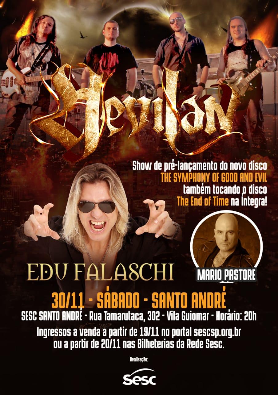 Read more about the article Hevilan anuncia volta aos palcos com show no Sesc Santo André dia 30 de novembro