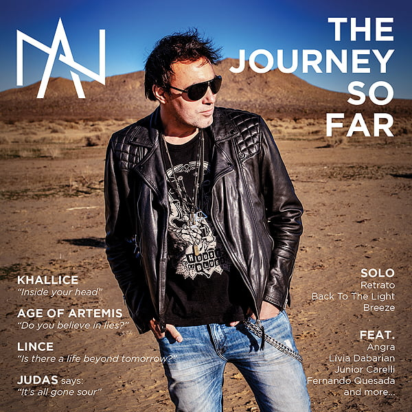"Alírio Netto divulga capa e tracklist de novo álbum e documentário ""The Journey So Far"""