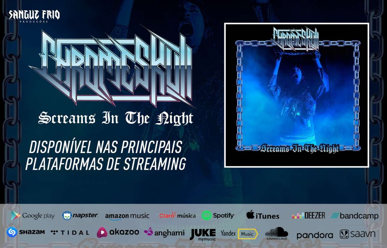 "Read more about the article Chromeskull: Ouça agora o novo single ""Screams In The Night"""
