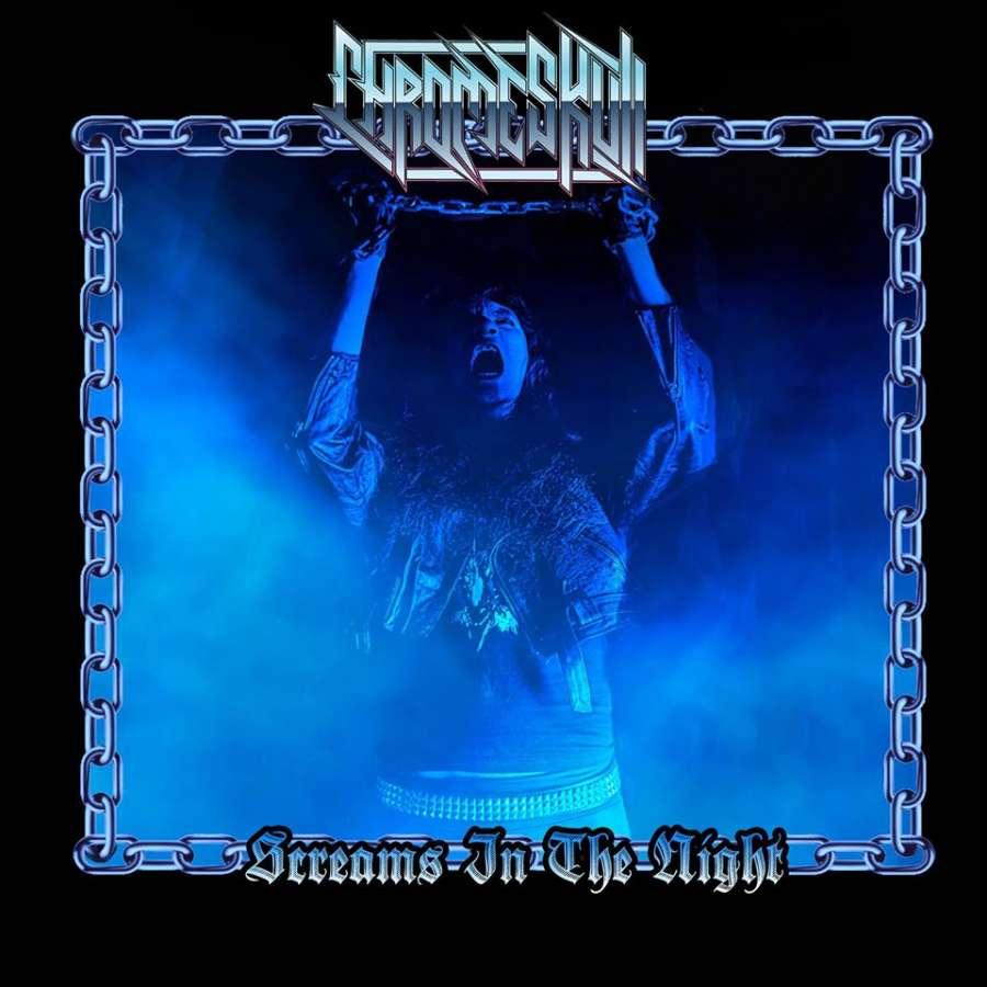 CHROMESKULL - Screams_In_The_Night_Cover