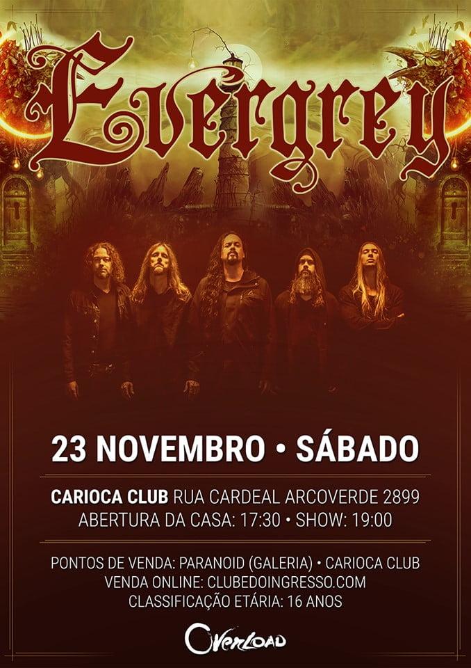 Evergrey em São Paulo flyer