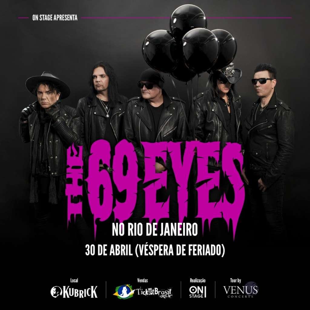 The 69 Eyes flyer