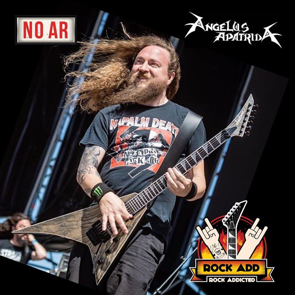 Angelus Apatrida: Vocalista Guillermo Izquierdo concede entrevista ao Rock Add