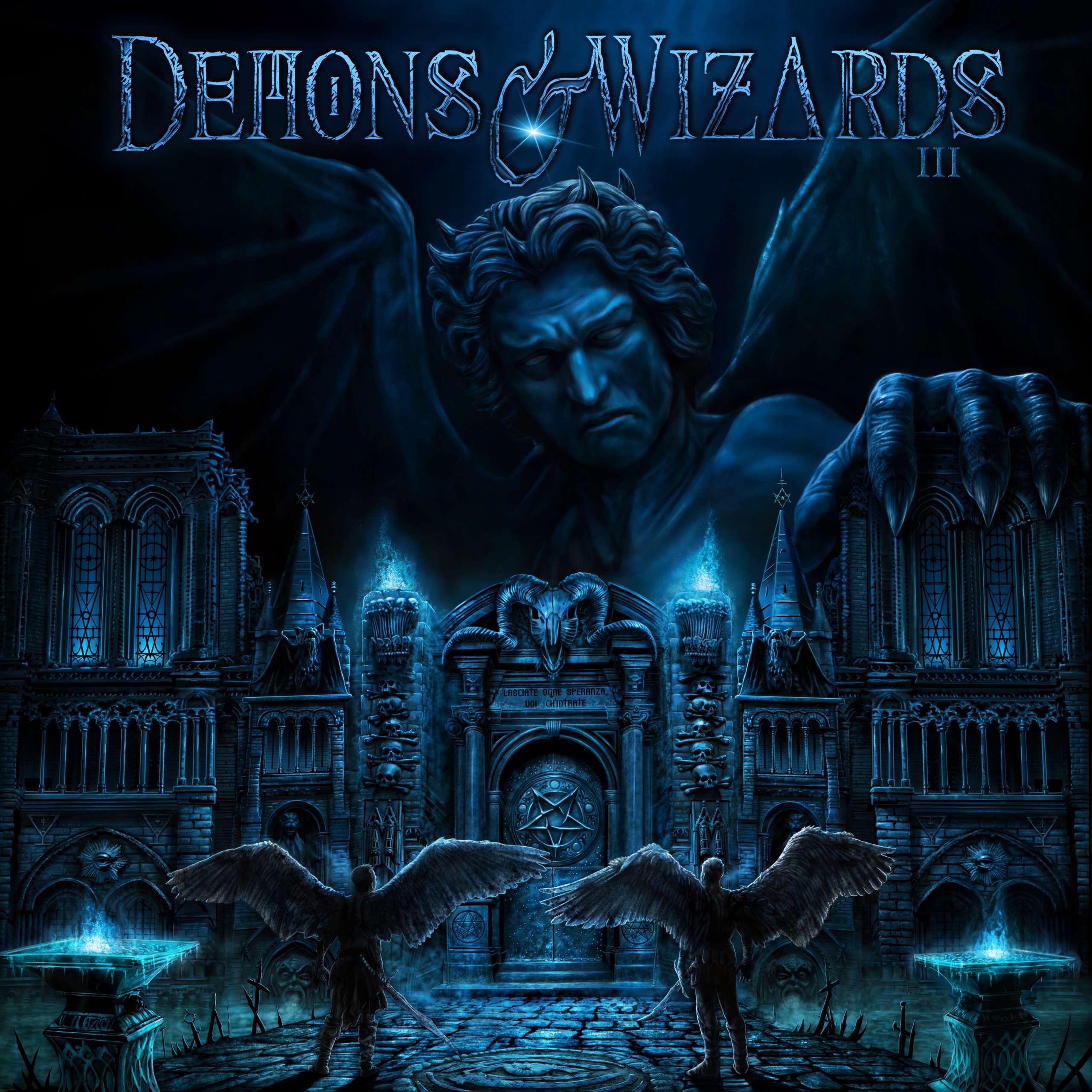Demons & Wizards anunciam novo disco.