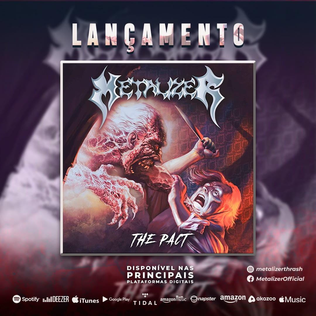 "Metalizer: novo álbum ""The Pact"" é lançado digitalmente"