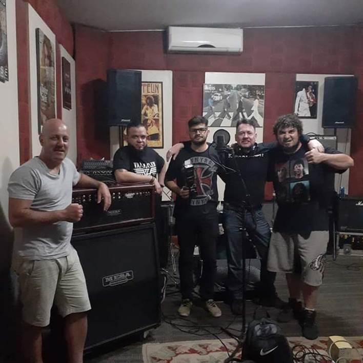 Krakkenspit: revela pré-produção de novo álbum de estúdio, apresenta novo baixista