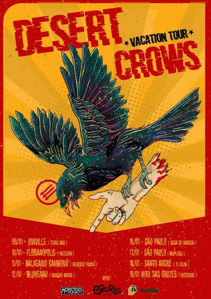 Desert Crows flyer