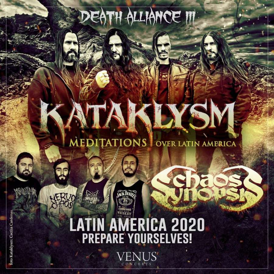 Kataklysm America Latina