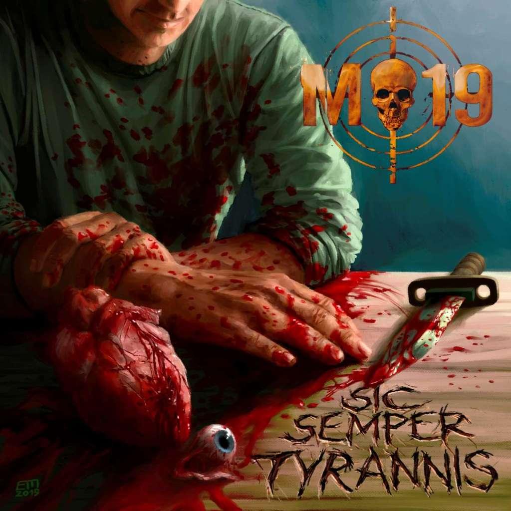 M-19 - Capa CD
